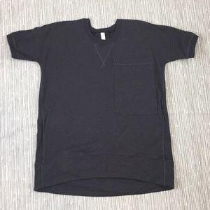 Lululemon Heathered Black Mudra Sweatshirt